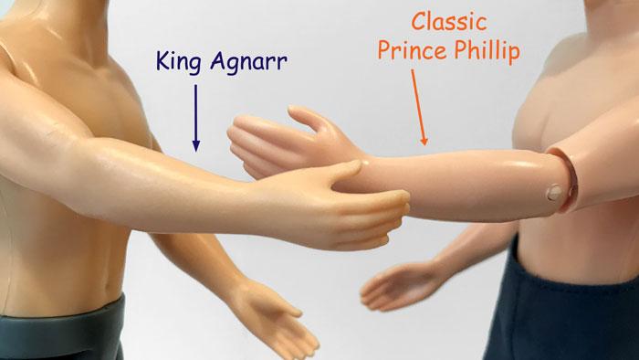 Disney Classic Prince vs Hasbro King Agnarr.
