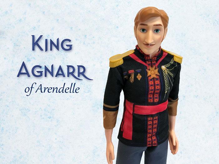 Arendelle Royal Family: King Agnarr.