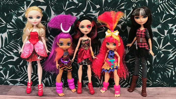 Cave Club verses Ever After High.
