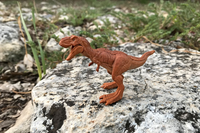 Jurassic World Mini Action Figure: T-Rex.