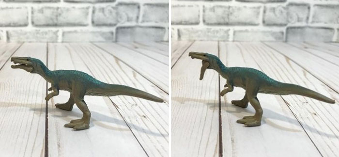 Jurassic World Mini Baryonyx.