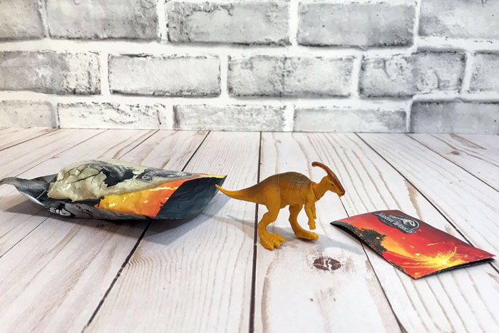 Jurassic World Mini Dino: Parasaurolphus.