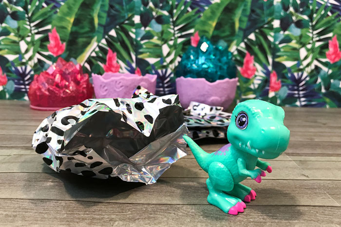 Unboxing Dino Baby Crystals: T-Rex