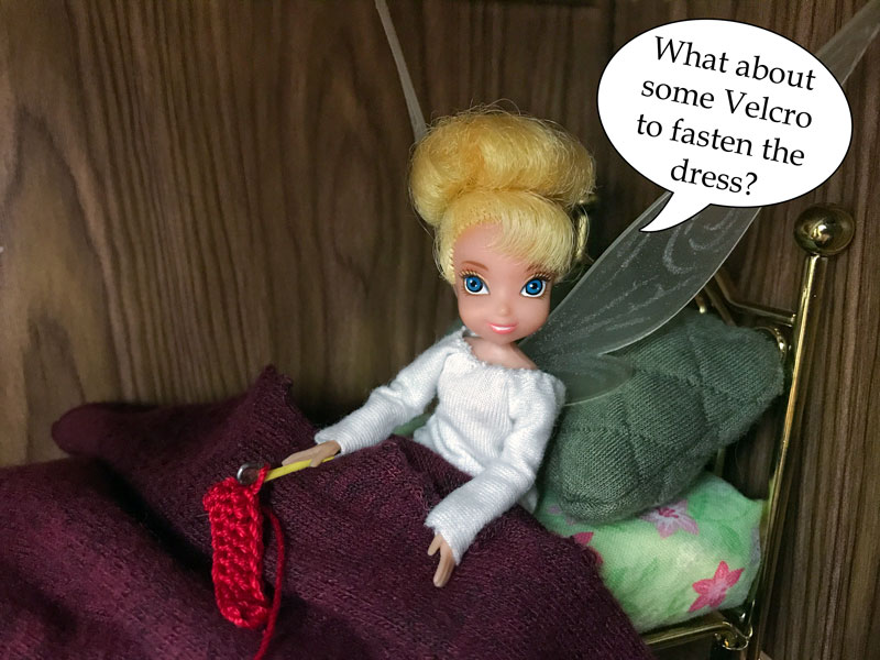 Image of Tink: What about Velcro?