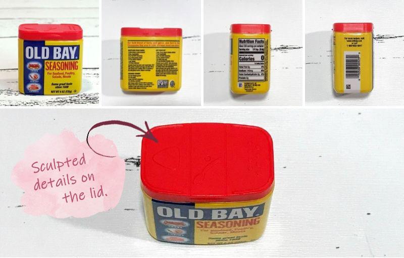 5 Surprise Mini Brands: Old Bay Seasoning.