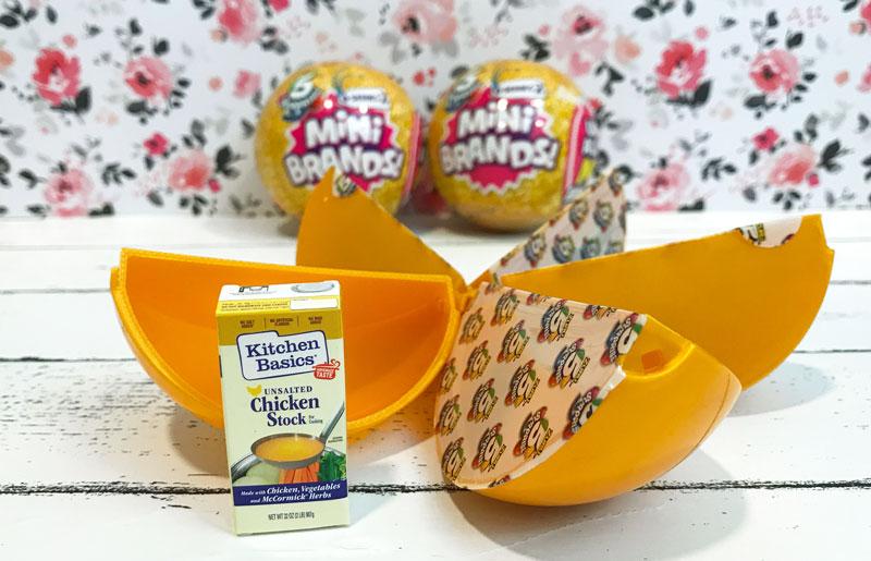 5 Surprise Mini Brands Series 2: Chicken Stock.