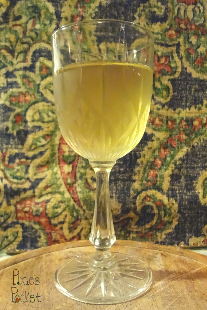 Ginger Wine: One Gallon Recipe
