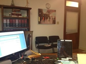 Inside Bankruptcy Attorney James Pixton's office | where the genius happens