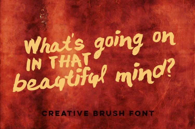 chocoleta-brush-font-free