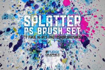 hi_res_splatter_ps_brush_set_by_fudgegraphics