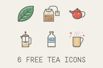 free-tea-icons