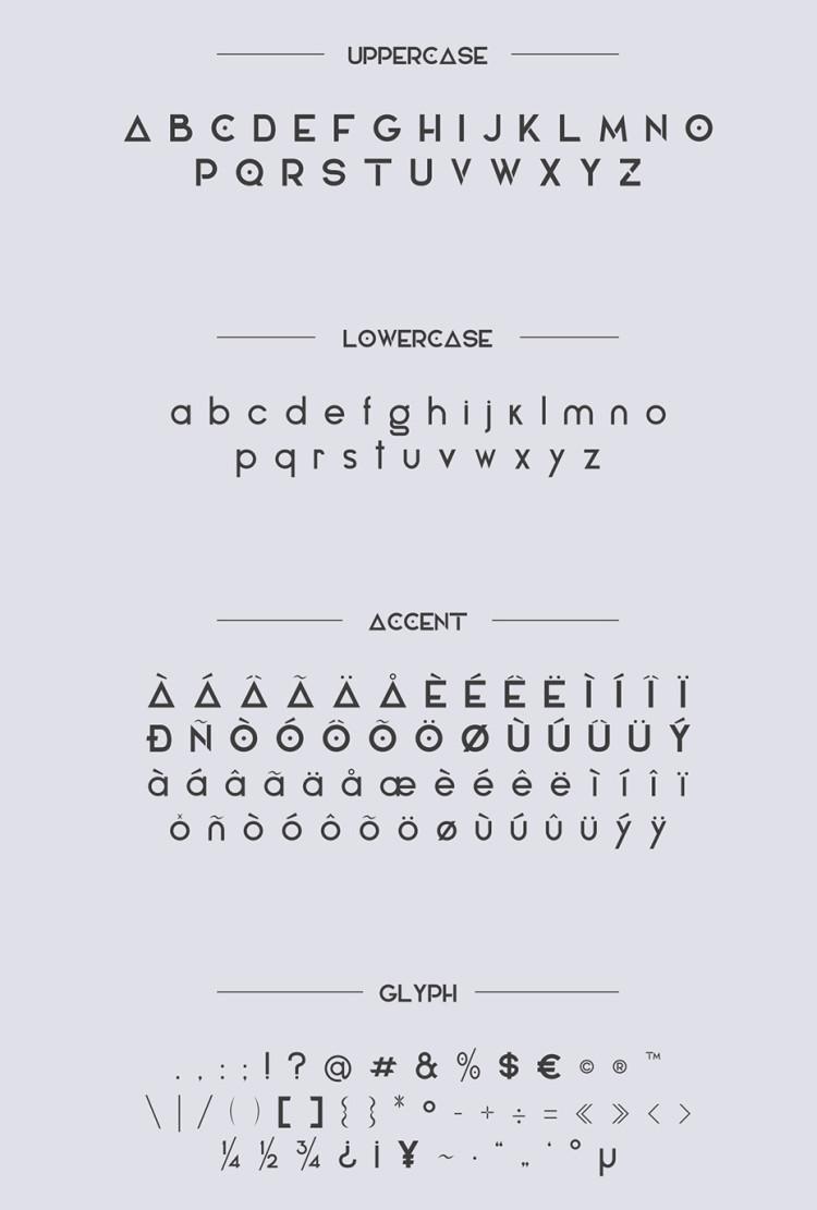 Elianto-free-font