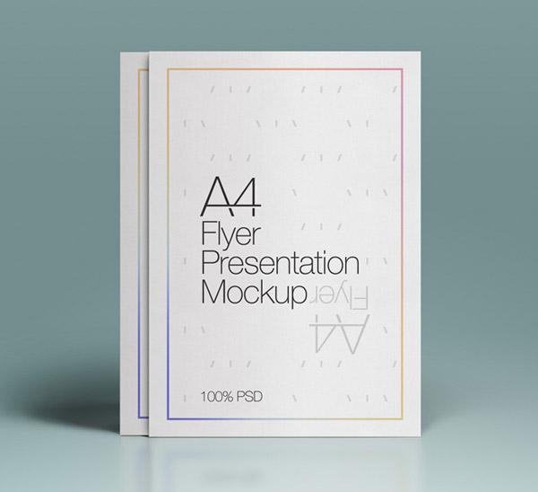 A4 Psd Flyer Mock-Up