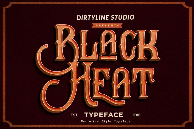 Black Heat Free Typeface
