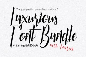 Luxurious-Font-Bundle