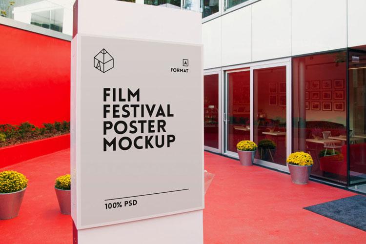 Film Festival Poster Mockup