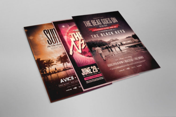 Flyer and Poster Mockup