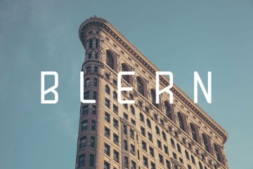 Blern Free Typeface