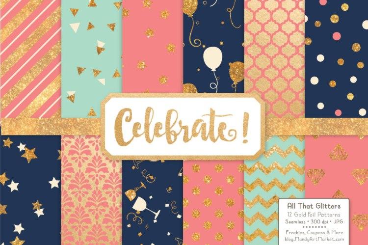 12 Free Celebration-Paper