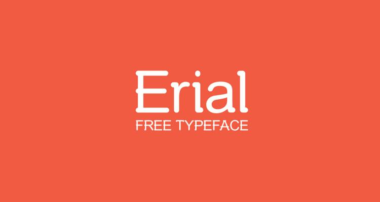 Erial Free Typeface