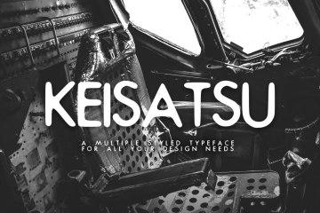 Keisatsu Free Typeface