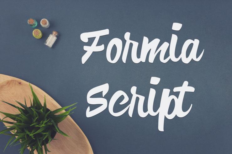 Formia-Script-Free-Font