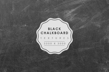 Free Chalkboard Texture Set