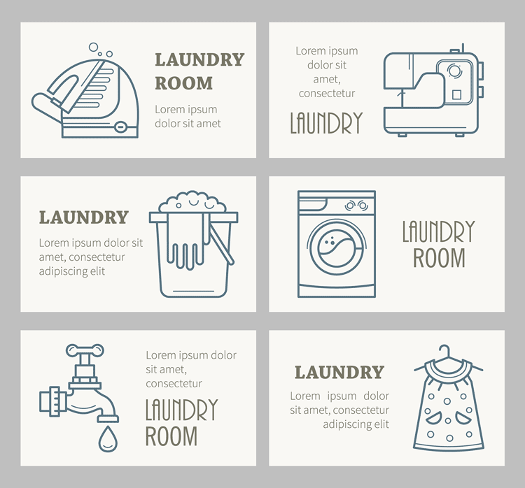 Free-laundry-room-linear-icons