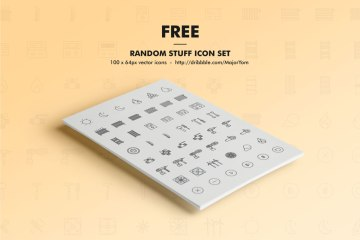 Random Stuff Free Icon Set
