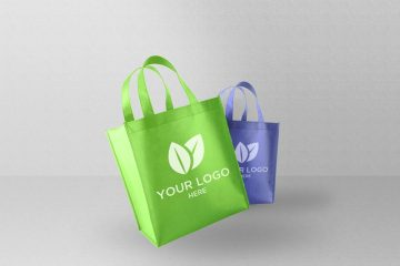 Eco Shopping Bag Free Psd Mockup