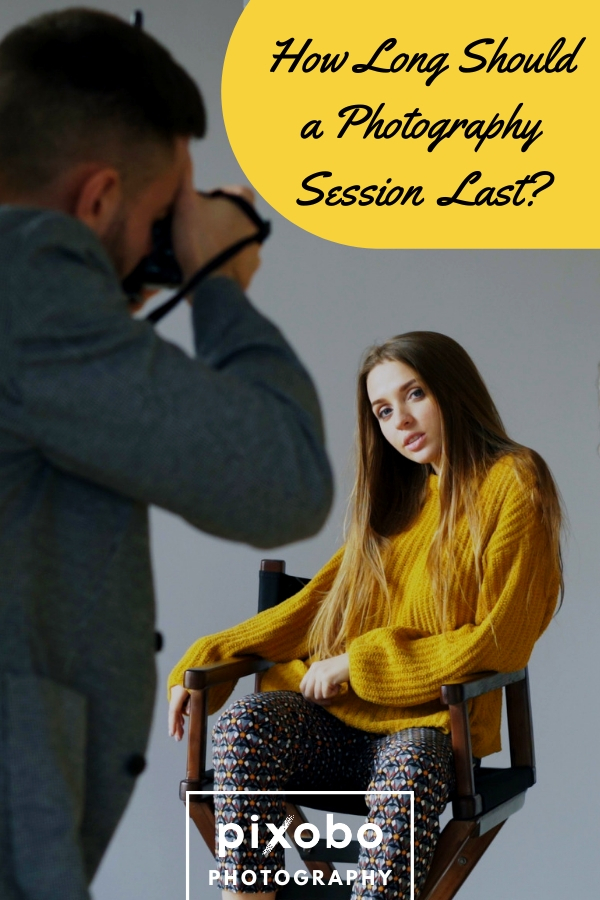 The duration of photo shoots can depend on many factors and it depends not only on the photographer but also on the clients. You as a photographer needs to appreciate your time because clients can sometimes take to much of it. We will give you an answer to the question: How long should a photography session last? Let\'s see! #photography #photographysession #studiophotography #photographytips