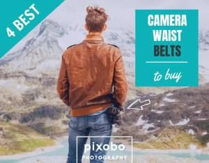 4 Best Photography Camera Waist Belts for Photographers