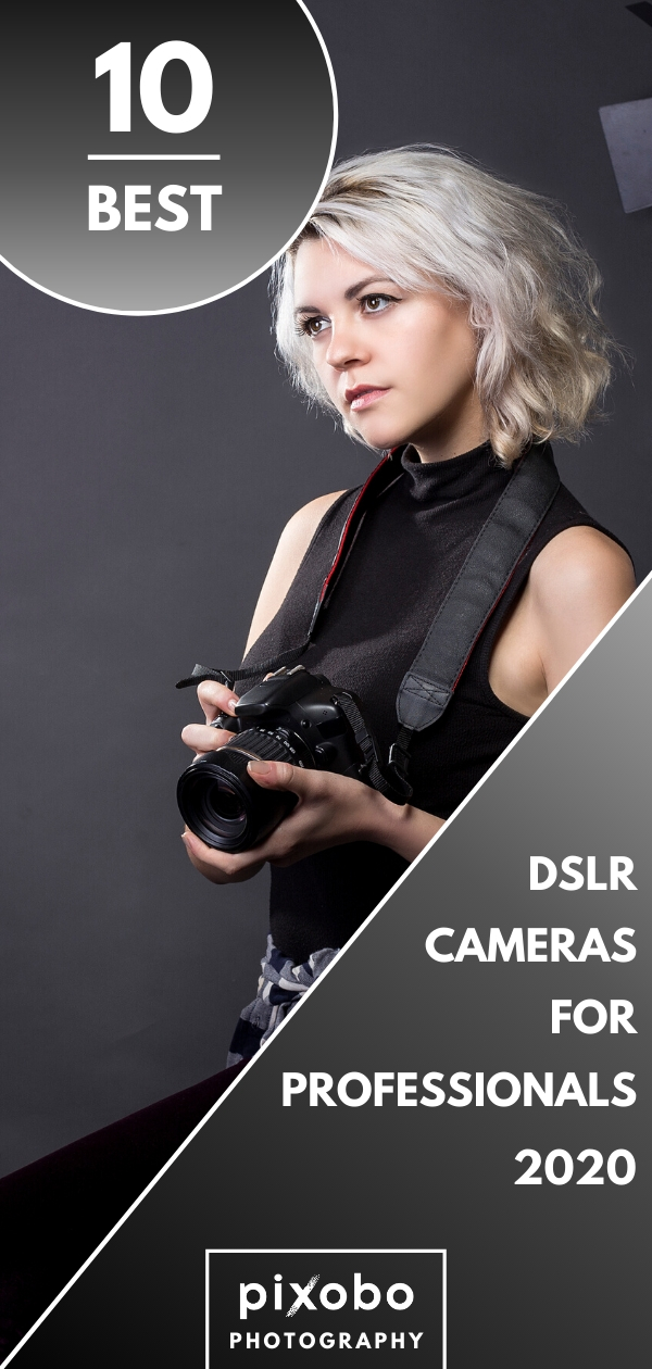 Before buying a professional camera it is very important to be well informed. A professional DSLR camera is very expensive and you need to consider what DSLR to buy that will give you the best value for the money. Here you can find out 10 best professional DSLRs for you! We have reviewed the best professional cameras in 2020 to help you make the best possible decision. #dslr #dslrcamera #dslrphotography #professionalphotography