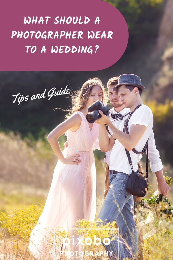 If you are a wedding photographer, your outfit can affect your whole career, so you need to know what should a photographer wear to a wedding. In this article, we\'ve decided to go through some important wedding photographer dress code rules and help you learn what to wear as a wedding photographer. Find out our guide about what should a wedding photographer wear, as well as female photographer wedding outfit tips and male wedding photographer outfit tips. #weddingphotographeroutfit #weddingphoto