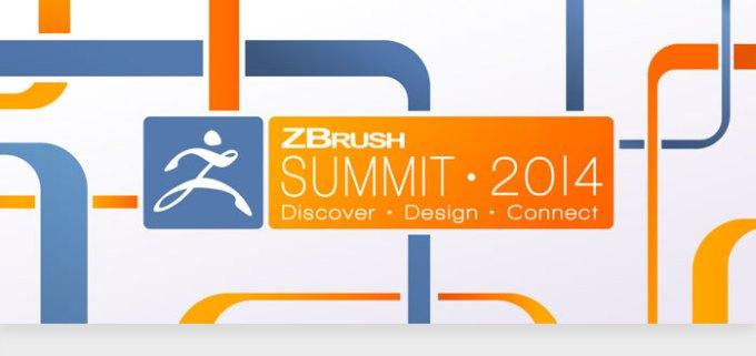 ZBrush 2014 Summit header