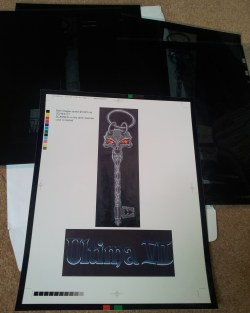 Ultima 7 Black Key & Logo Proof/Negatives