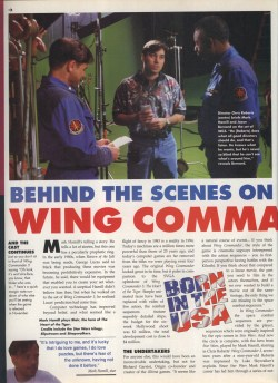 Wing Commander 3 Preview Page 1 - PC Format