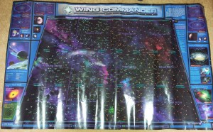 Wing Commander Prophecy - Developer Universe Map Poster