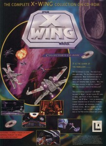 X-Wing Collectors CD-Rom Full Page Ad