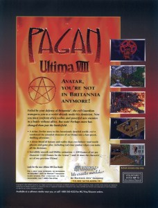 Ultima 8 Magazine Advert Proof 2