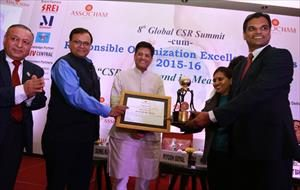 With the Awardees of Responsible Organization Excellence Awards 2015-16 in New Delhi