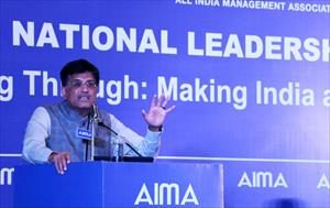 addressing-aima-2nd-national-leadership-conclave-on-breaking-through-making-india-a-creative-superpower