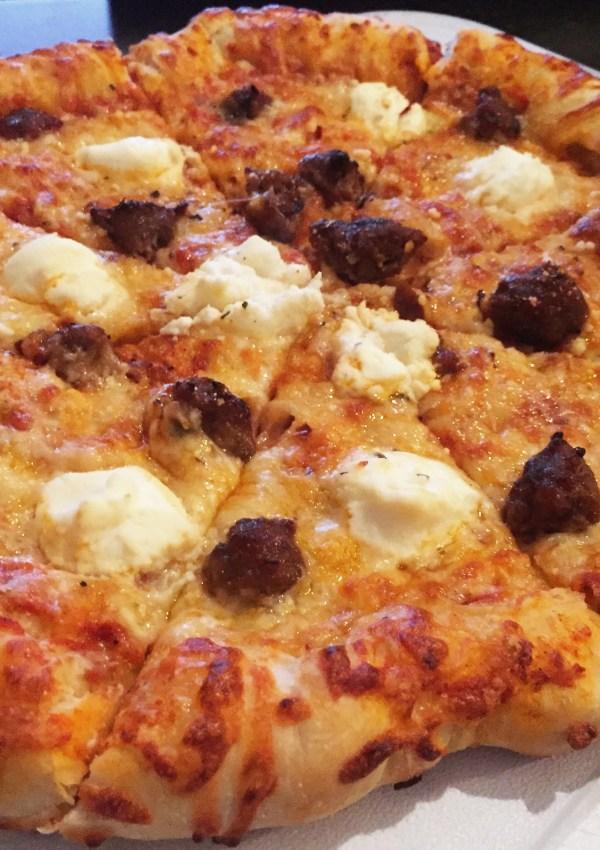 Hot Italian Sausage & Ricotta Pizza Recipe