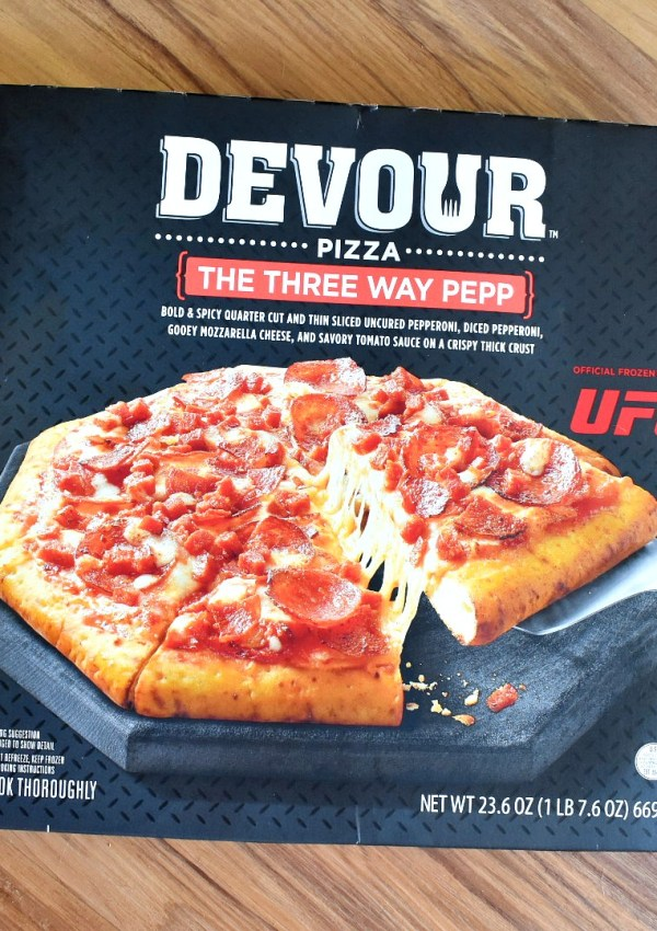 Devour Pizza Three Way Pepp Frozen Pizza Review