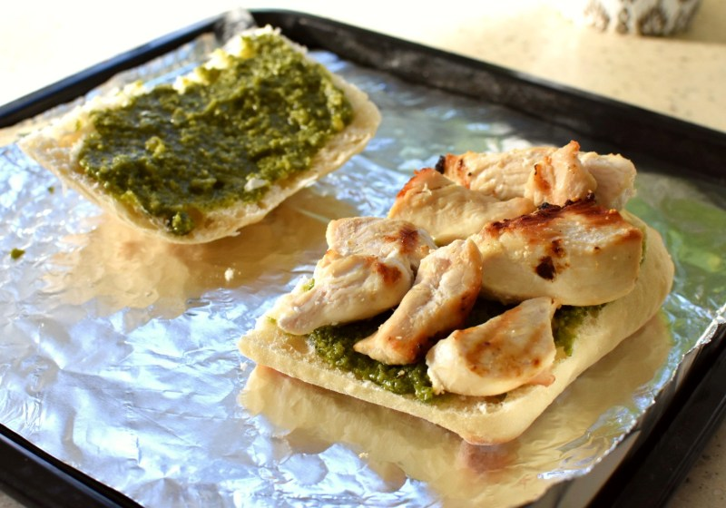 Inspired by Al's Chicken Pesto Sandwich Recipe