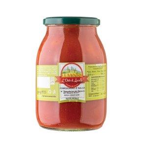 Pomodorino Del Piennolo DOP in salsa - L'Orto di Lucullo