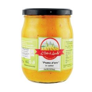 Pomodoro giallo in salsa - L'Orto di Lucullo