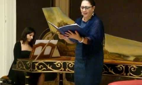 Inno Asburgico cantato dal Soprano Claudia Andolfi a Tolentino il 5 maggio 2013