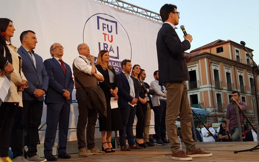 Futura, la città sei Tu – Gianluca Callipo candidato a sindaco di Pizzo