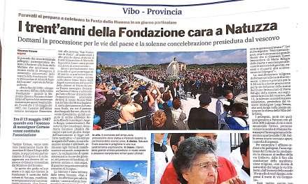 I trent'anni della Fondazione cara a Natuzza